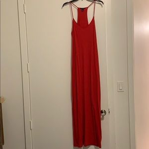 ✅🔥❤️FOREVER 21 Sexy Red Maxi Dress❤️🔥